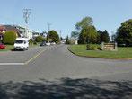 Sprinterli bei Mile 0 - auf Vancouver Island beginnt der Trans-Canada Highway