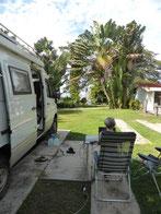 ...an die Westküste zum Wohlfühlplatz Paraiso Miramar RV-Trailer Park, San Blas