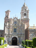 Die Kirche San Francisco in Acatepec