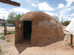 Ein Hoogan, Indianer lebten nicht nur in Zelten