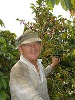 Plantagenarbeiter lassen sich gerne fotographieren