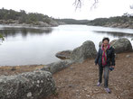 """Wir wollen nur mal """"schnell"""" um den See wandern, aber ein Fjord löst den anderen ab. So wird es eine 3-Stunden-Wanderung."""