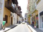 Die Altstadt Cartagenas besticht durch schöne, alte Kolonialhäuser