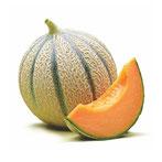 Cantaloupe Melone, Melonenaroma, Süsses Melone, Aromatische Melone