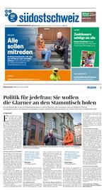 Bericht der Südostschweiz Glarus vom 31. Januar 2018