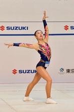 ユース2女子シングル部門2年連続優勝の金子実楓