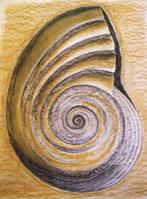 Spirale -pastel sec 50x70cm