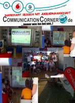 Mario Kart Session im CommunicationCorner mit spannenden Rennen!