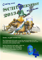 Bild: Cover Schützenfestheft 2013