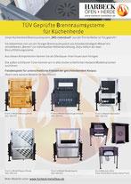 Flyer Brennraumsystem BRS individuell für Küchenherde