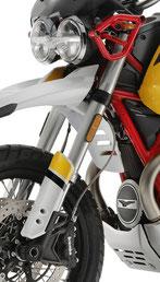 Moto Guzzi V85 TT 41mm Upside Down Gabel Frontansicht