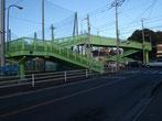 大砂土中前歩道橋(塗装・舗装工事)