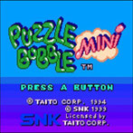 Puzzle Bobble Mini / Bust-A-Move Pocket