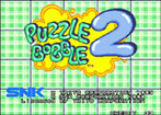 Puzzle Bobble 2 / Bust A Move Again