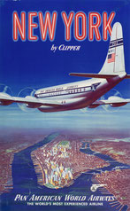 Original vintage Pan Am poster collection