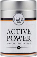 TEATOX – ACTIVE POWER BIO GRÜNER TEE MIT GUARANÁ