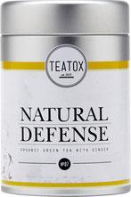 TEATOX – NATURAL DEFENSE BIO GRÜNER TEE MIT INGWER