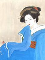 """At the teahouse"" 31 x 24 cm"