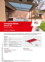 Download Produktinfo Wintergartenmarkise Climara W9