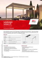 Download Produktinfo Lamellendach Lamaxa L70