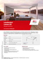 Download Produktinfo Lamellendach Lamaxa L60