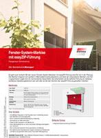 Download Produktinfo Fenster-System-Markise mit easyZIP-Führung