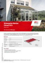 Download Produktinfo Wintergartenmarkise Climara W19