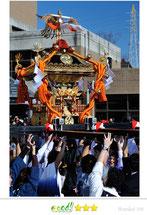 八重垣写真館さん: 成人祝神輿