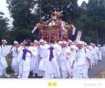 門前人さん:金刀比羅神社例祭・神輿渡御祭