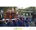 いわくら雷人さん:澁谷氷川神社・広尾神社例大祭