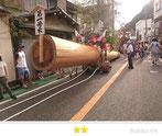 門前人さん:天津神明宮 式年鳥居木曳祭
