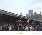 大鐡さん:波除稲荷神社夏越し大祭