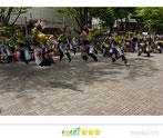 松下崇一さん: 原宿表参道元氣祭スーパーよさこい2014