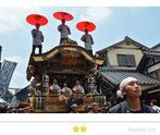 カエルさん:成田祇園祭り