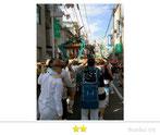 OL虹子さん:旗岡八幡神社例大祭