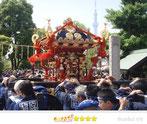 たーたんさん:石浜神社大祭