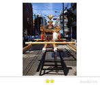 OL虹子さん:亀戸天神社例大祭