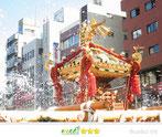 萌里さん:富岡八幡宮例大祭2012(水掛け祭り)