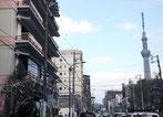 当館から東京スカイツリー®まで、路線バスで約10分