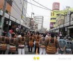 千囃連さん:2012年三社祭
