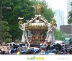 まゆぴょんさん: 鐵砲洲稲荷神社大祭