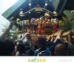 いわくら雷人さん:築土神社例大祭