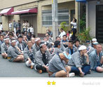 亀田会さん: 三社祭