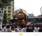 まきさん:富岡八幡宮例祭