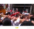 マッキーさん:潮田神社例大祭