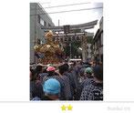 OL虹子さん:牛嶋神社大祭