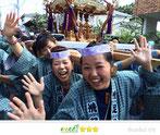 恵利子さん: 碑文谷八幡宮例大祭