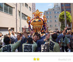 あつしさん:蔵前神社例大祭