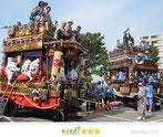 千囃連さん:成田市飯田町・並木町 祇園祭