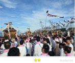 たぬきさん:茅ヶ崎浜降祭